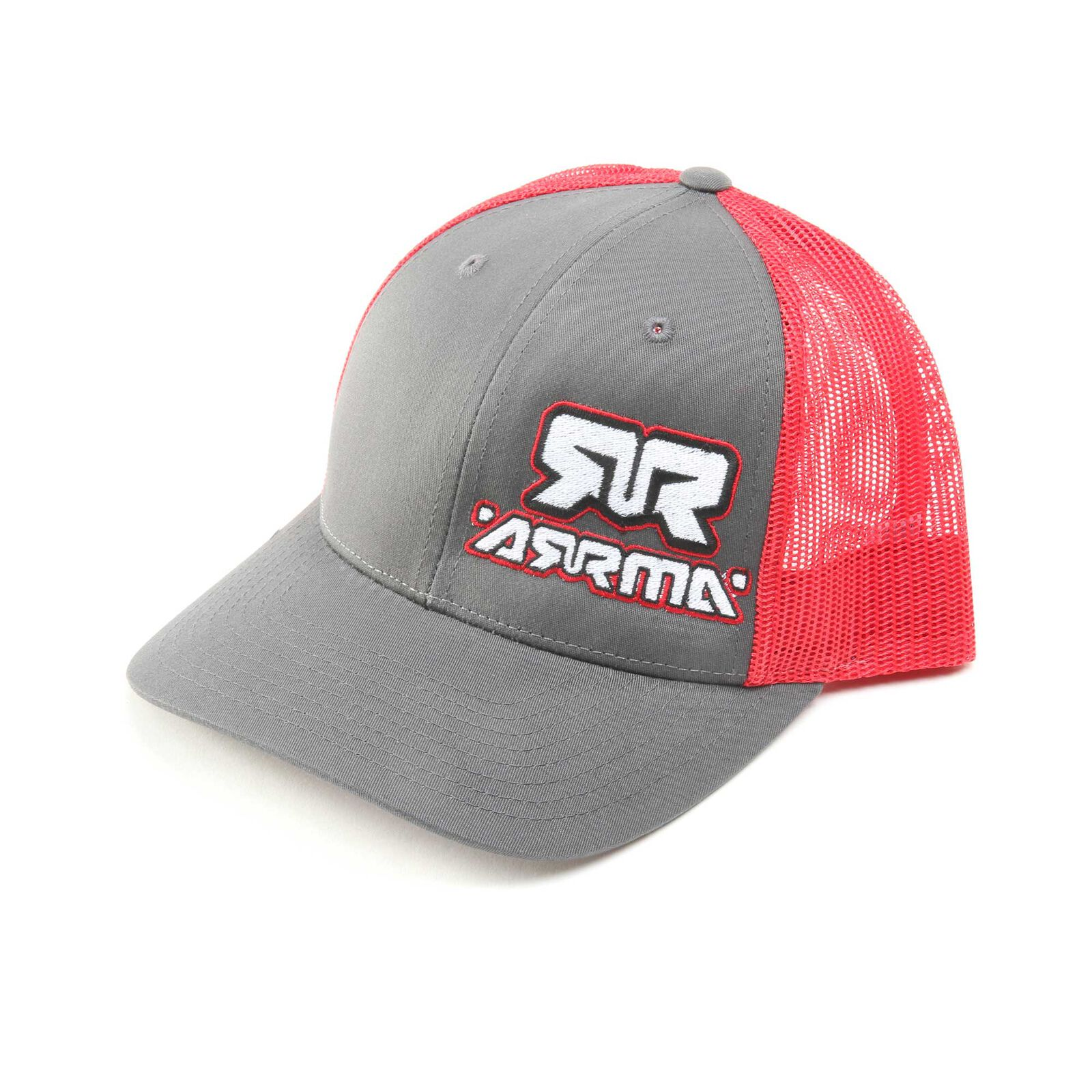 Trucker Hat, Red Charcoal