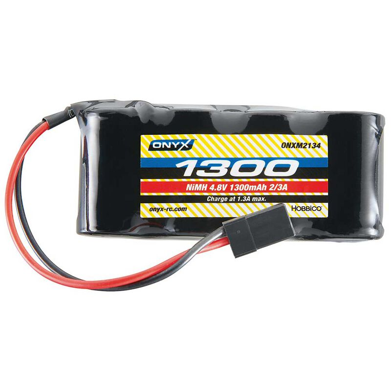 4.8V 1300mAh 2/3A NiMH Flat Receiver Battery: Universal Receiver
