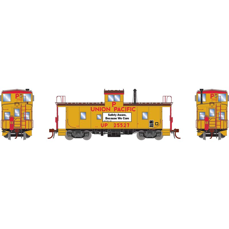 HO CA-8 Late Caboose with Lights & Sound UP #25527