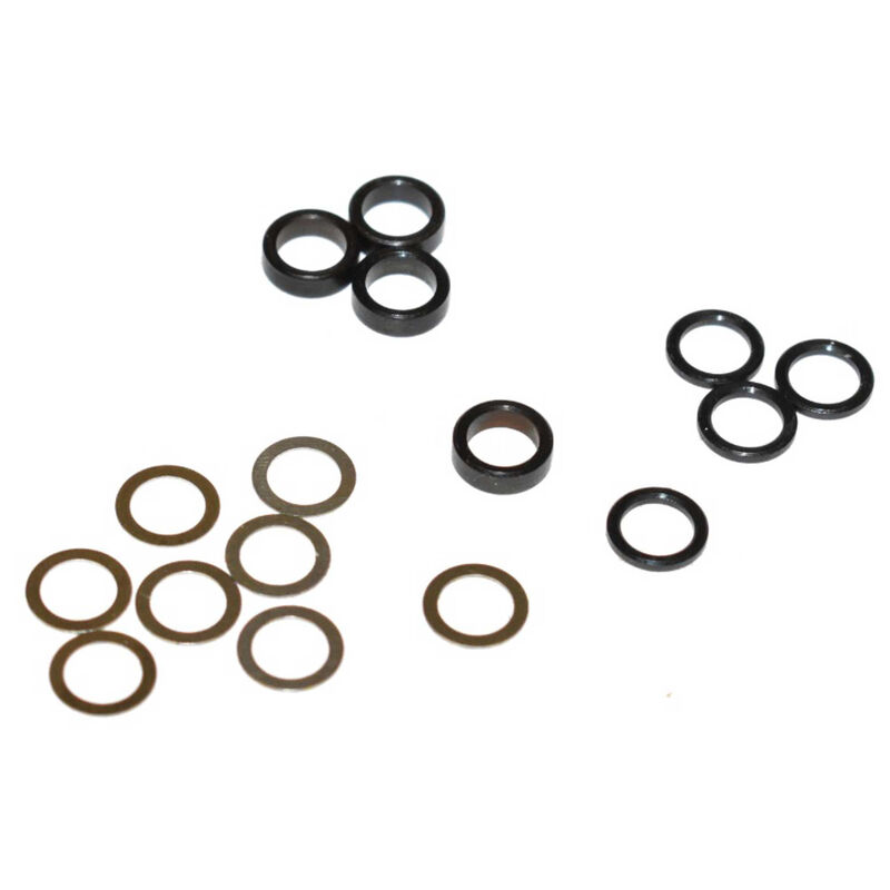 5mm Steel Spacer Kit, .25mm, 1.0mm & 2.3mm