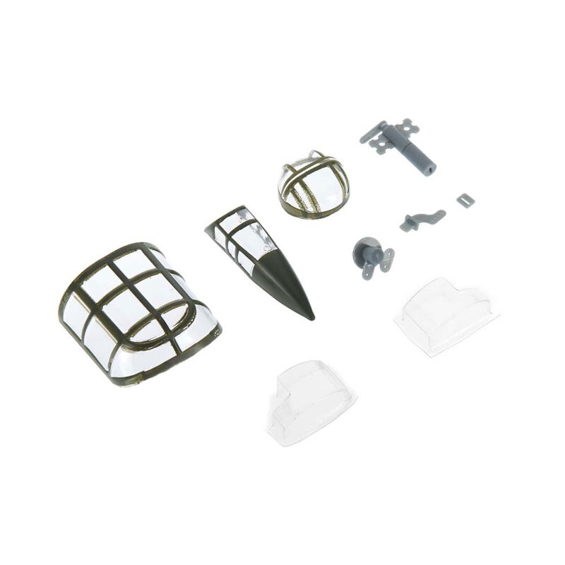 Plastic Parts Set: Micro B-25