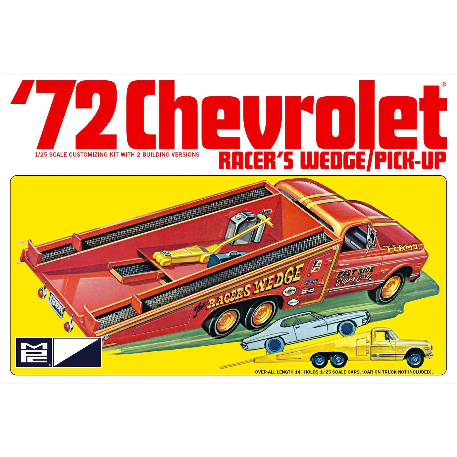 1/25 1972 Chevy Racer's Wedge Pick Up Model Kit
