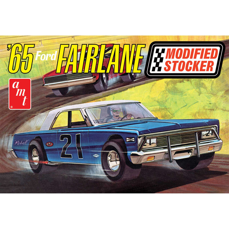 1/25 1965 Ford Fairlane Modified Stocker