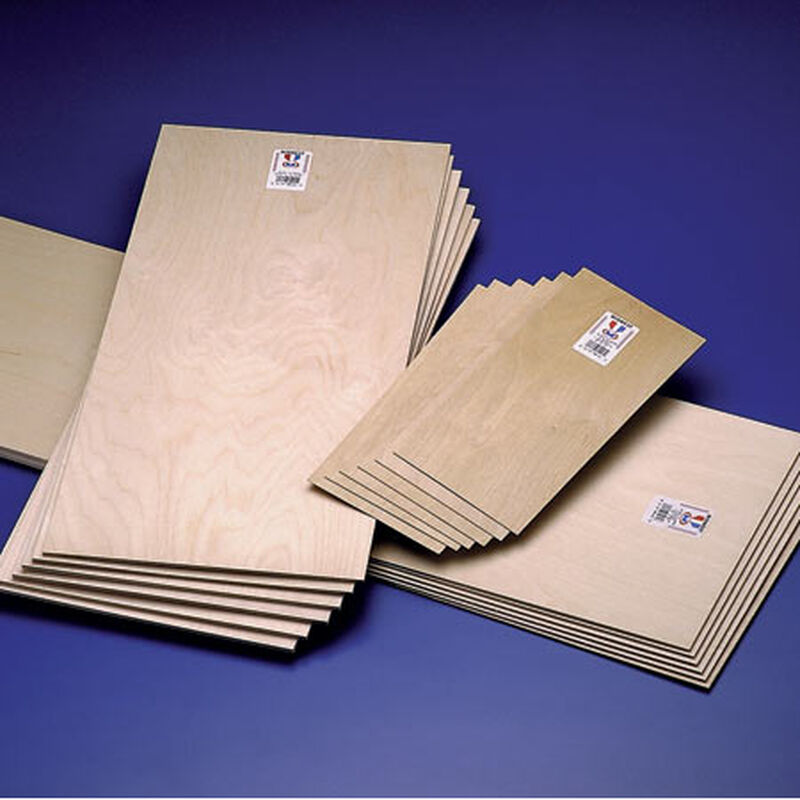 Plywood 1/64 x 6 x 12 (6)