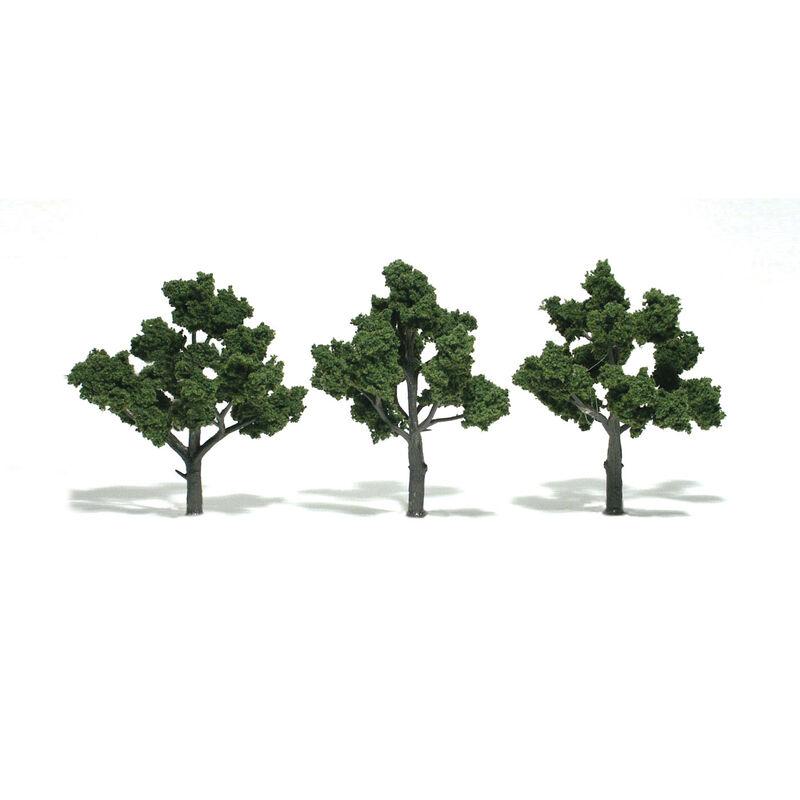 """Ready-Made Tree, Medium Green 4-5"""" (3)"""