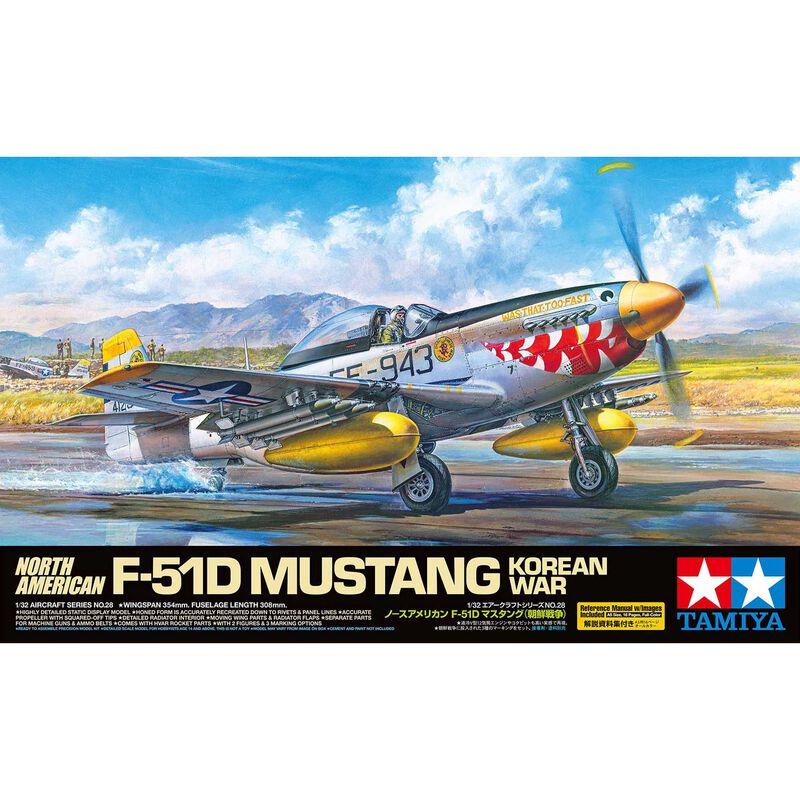 1/32 North American F-51D Mustang Korean War