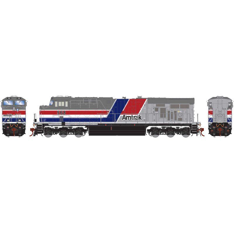 HO ES44AC Amtrak #568