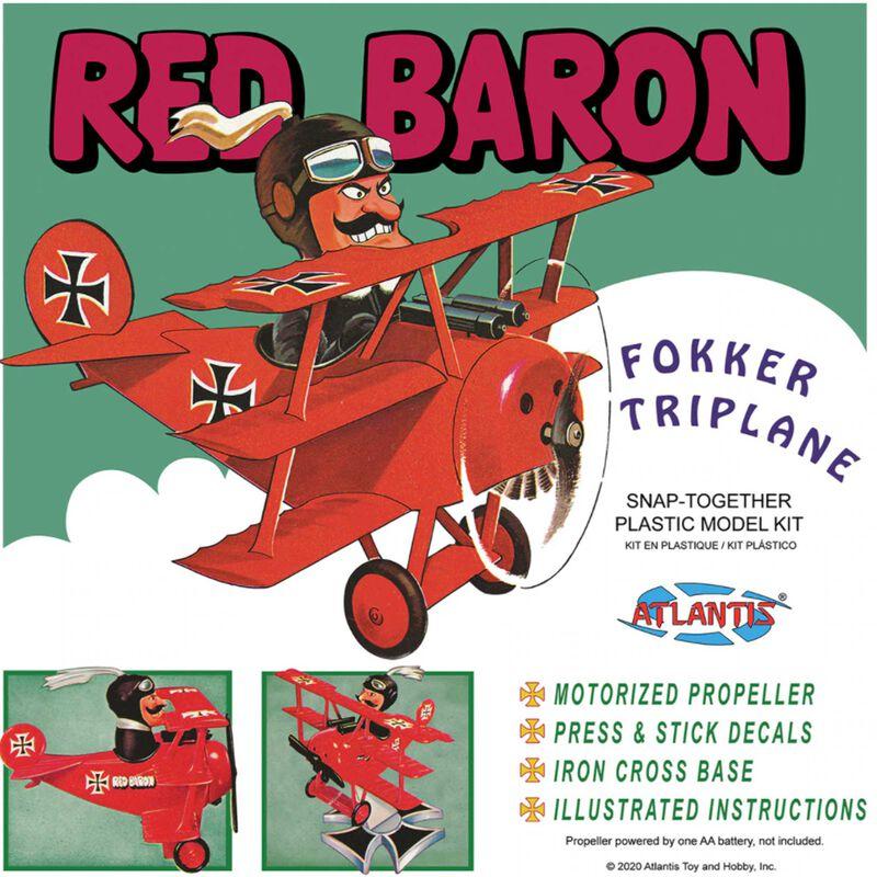 Red Baron Fokker Tri-Plane Snap Kit