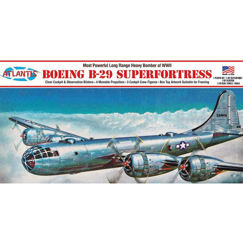 Boeing B-29 Superfortress 1/120 with Swivel Stand