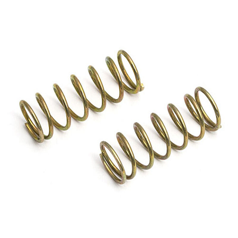 Factory Team Micro Shock Springs, 12.0lb, Gold, Hard (2)