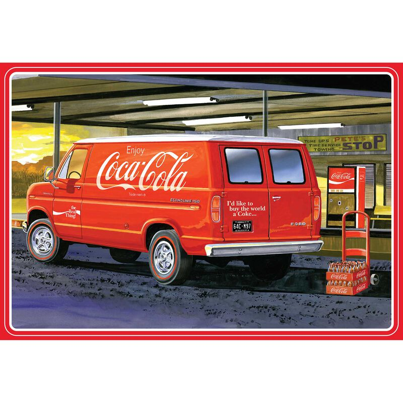 1/25 1977 Ford Van with Vending Machine, Coca-Cola