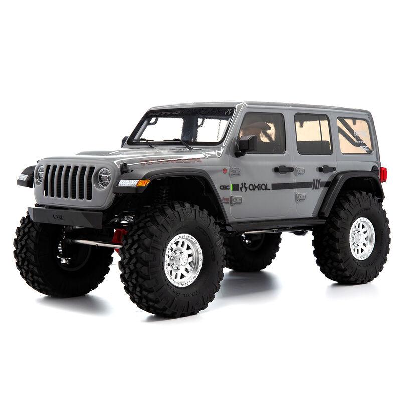 1/10 SCX10 III Jeep JLU Wrangler with Portals RTR, Gray