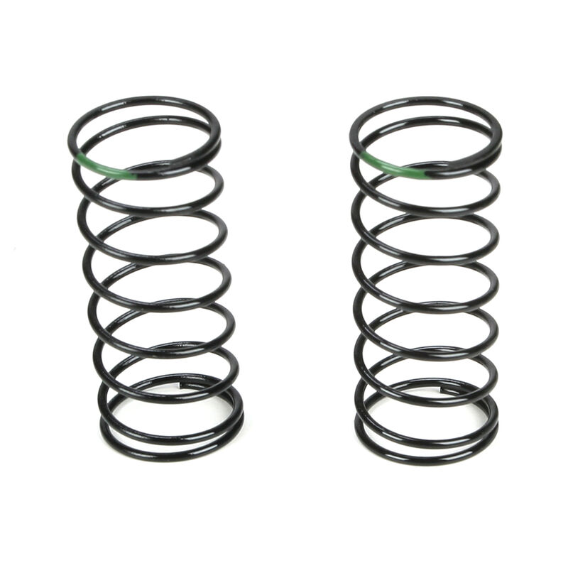 Front Shock Spring, 3.5 Rate, Green