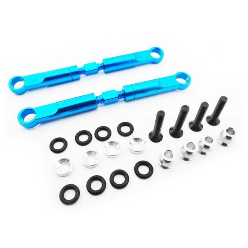 Blue Aluminum 72mm Front Turnbuckles