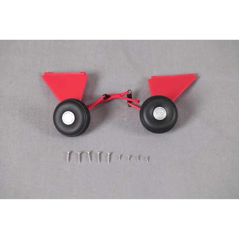 Landing Gear Set: J-3 Cub V3, 1400mm