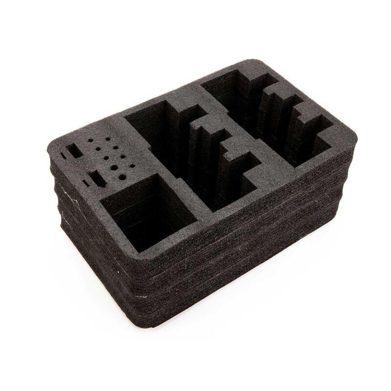 Optional Dual Transmitter Foam Set: Stand Up Transmitter Case