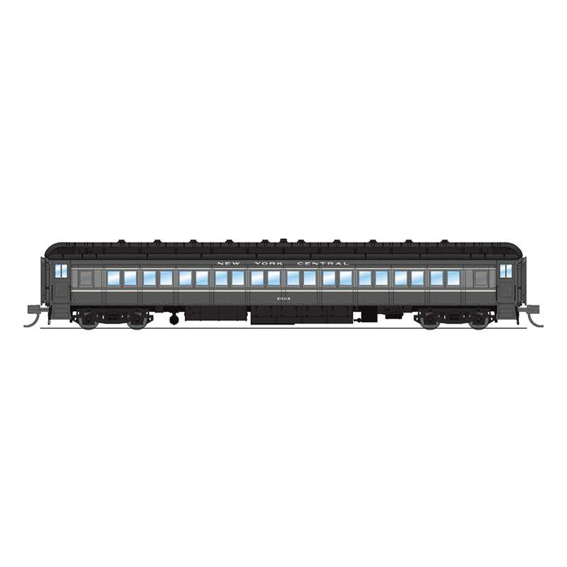 6533 NYC 80' Passenger,Two-tone Gray,Single Car,N