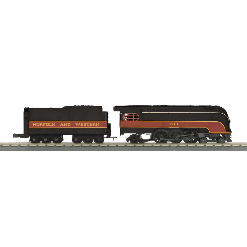 O-27 4-6-2 Forty-Niner w PS3 N&W #540