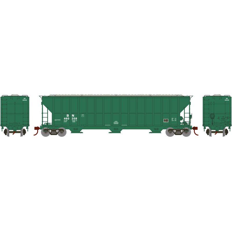 HO RTR FMC 4700 Covered Hopper, BN/Bland #460358