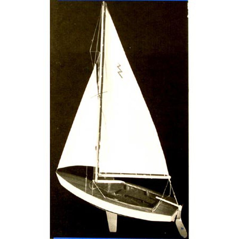 "Lightning Sailboat 19"" Boat Kit"