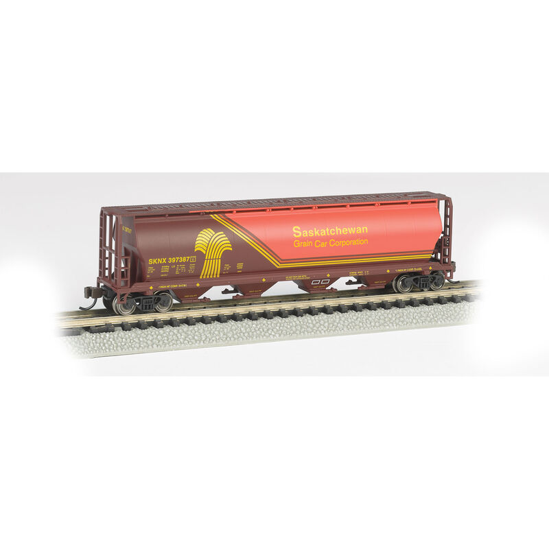 N 4-Bay Cylindrical Hopper SKNX Wheat Hearald