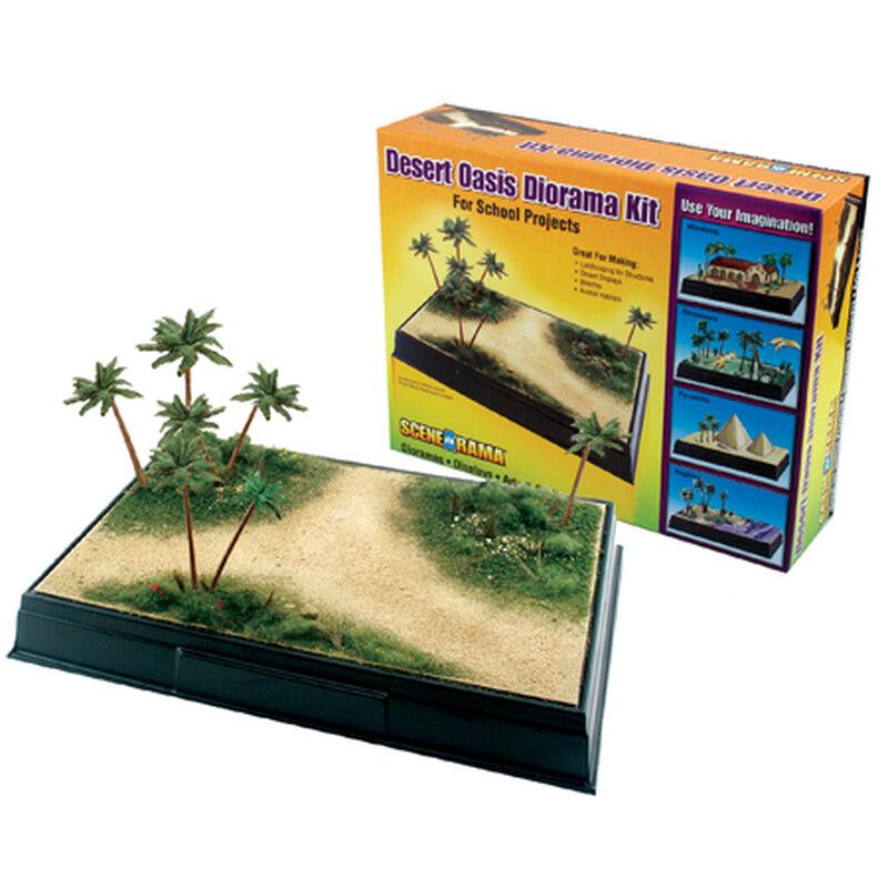 Scene-A-Rama Desert Oasis Diorama Kit