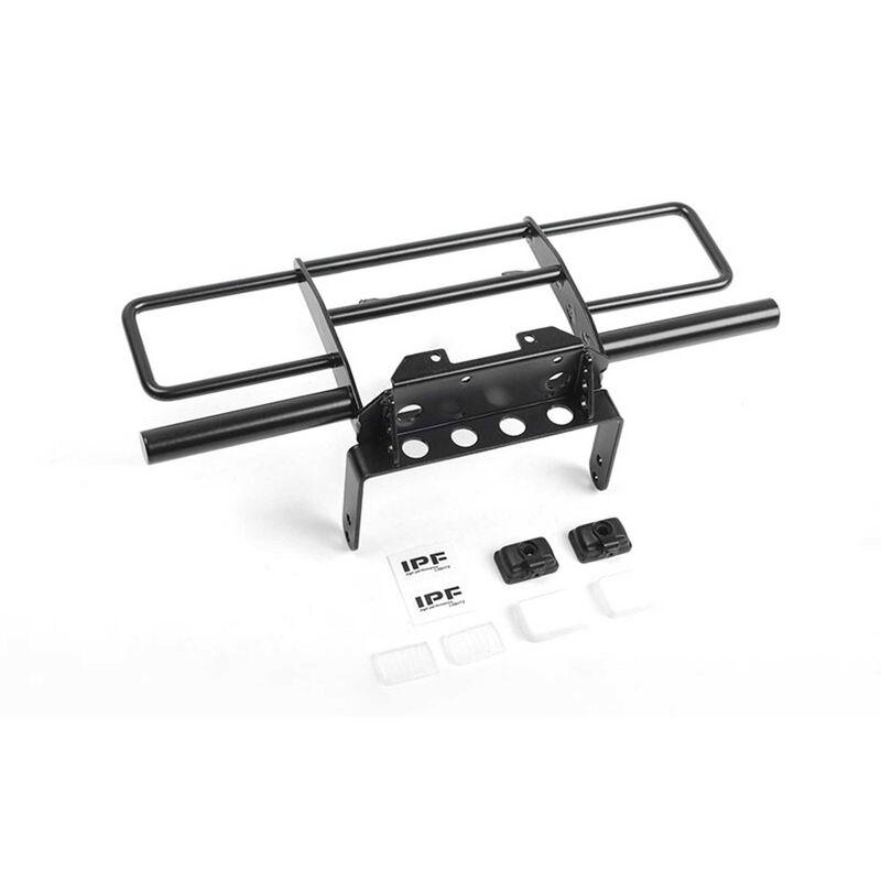 Oxer Steel Front Winch Bumper-VS4-10 Origin Black