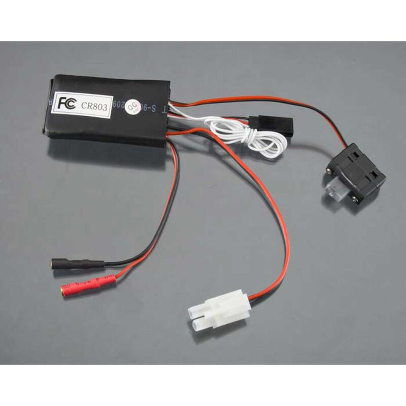 Receiver ESC A4 with On Off Switch: Mini Rio