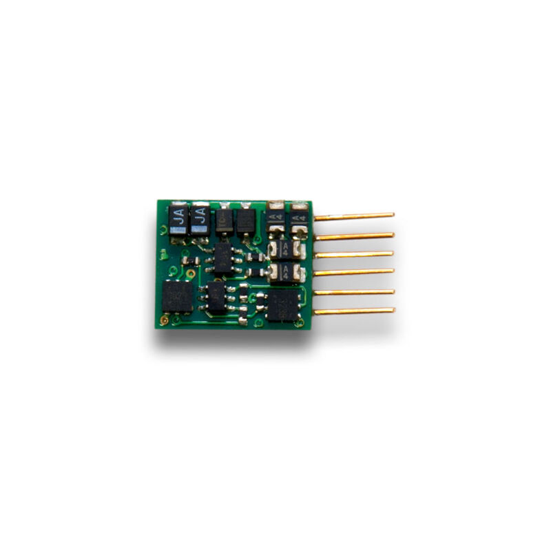 Z DCC Decoder S6 Pin n Plug Back EMF 2-Function1A