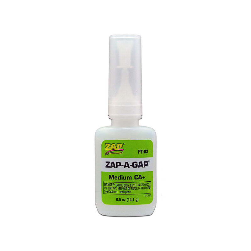 Zap-A-Gap Medium CA+ Glue, 1/2 oz