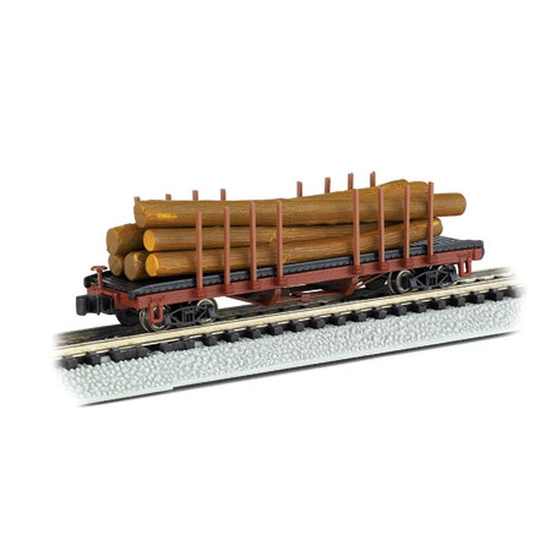 N ACF 40' Log Car, 1935-1960