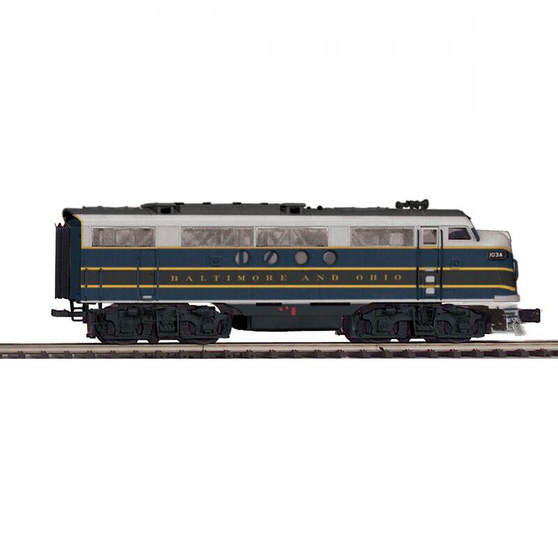 O Hi-Rail FT A with PS3 B&O #103A