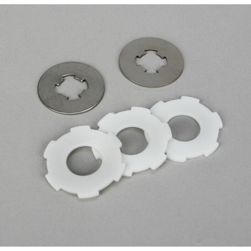 Slipper Pads & Plates: LST/2, XXL/2