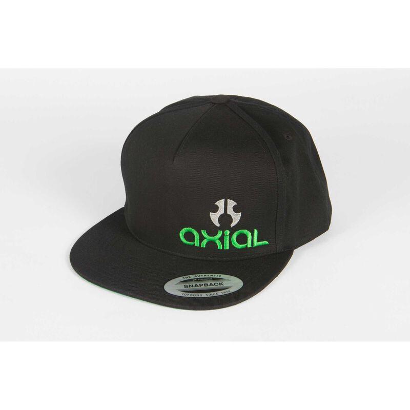 Flat Bill Hat/Cap, Black