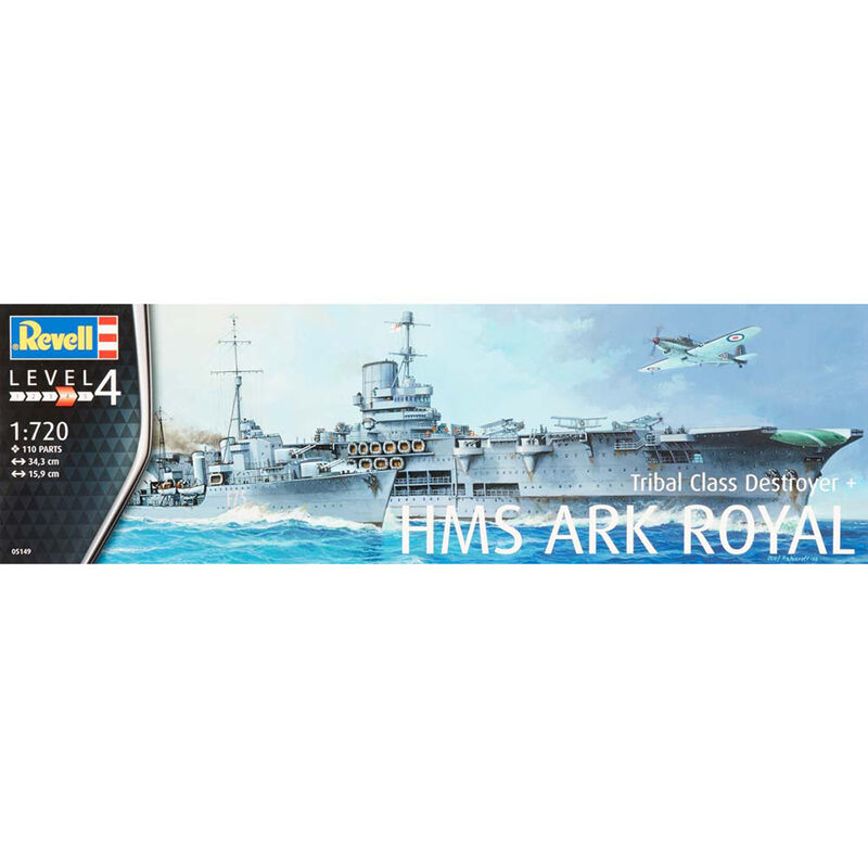 1 720 HMS Ark Royal Tribal Class Destryr