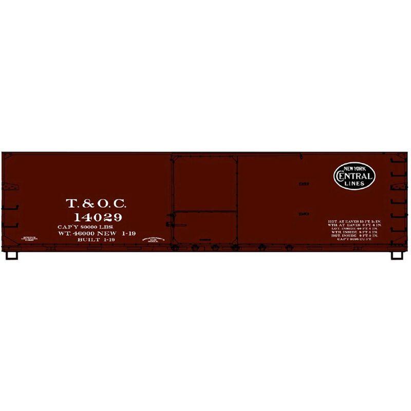 USRA Dbl-Sheath Wood Box Car HO #14029
