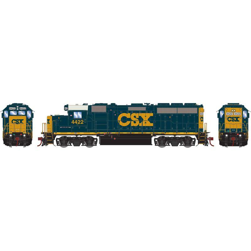 HO GP40-2 with DCC & Sound CSX #4422