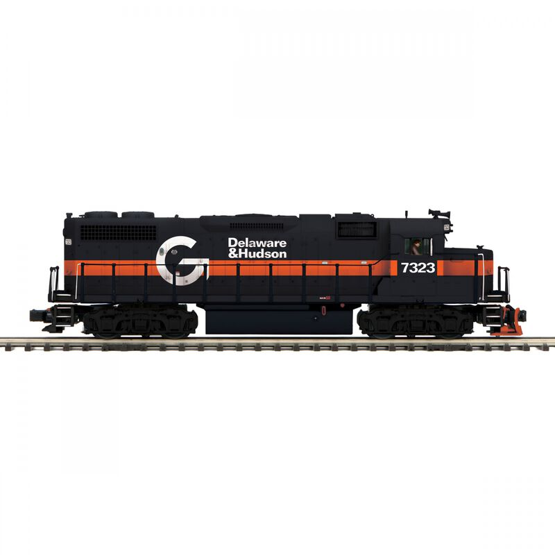 O GP38-2 with PS3 D&H #7323