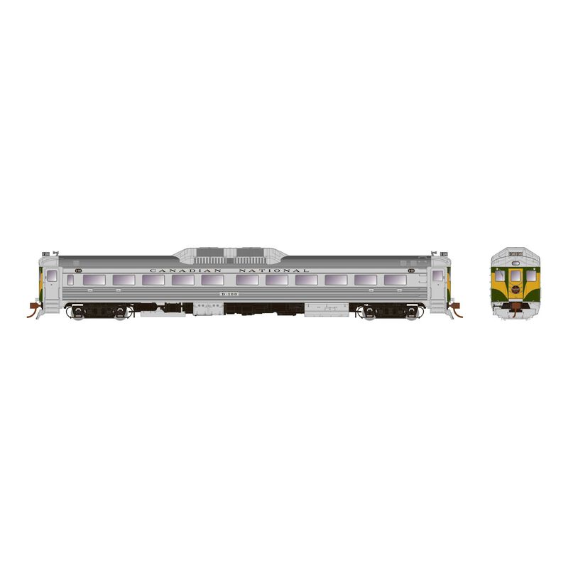 HO Scale RDC-1 (DC Silent), CNR Delivery #D100