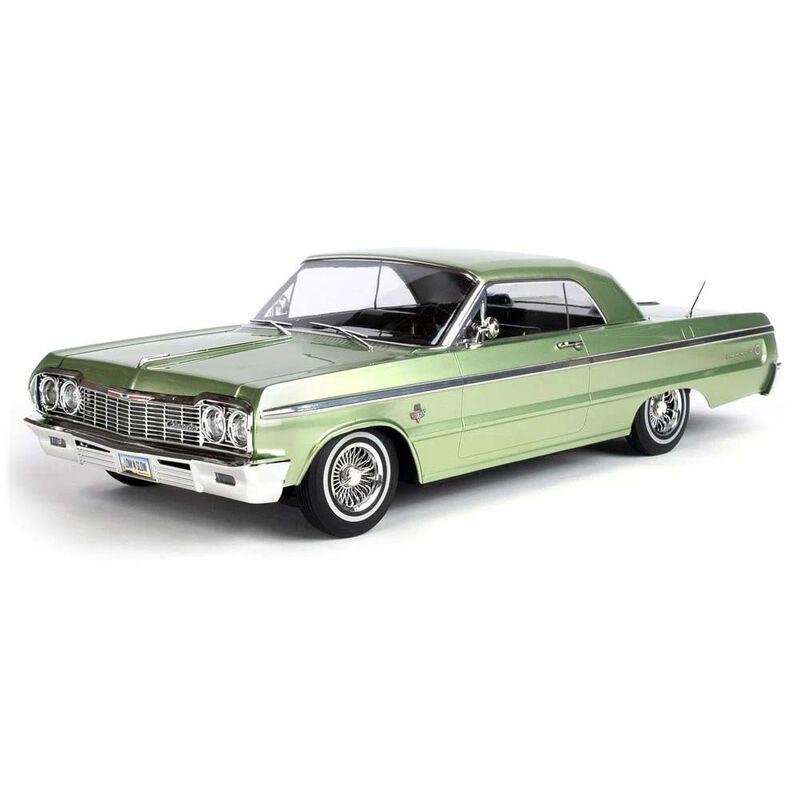 1/10 SixtyFour 1964 Chevrolet Impala Hopping Lowrider, Green