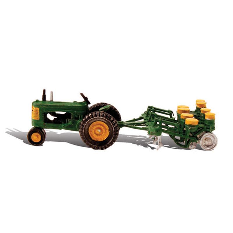 HO Tractor & Planter
