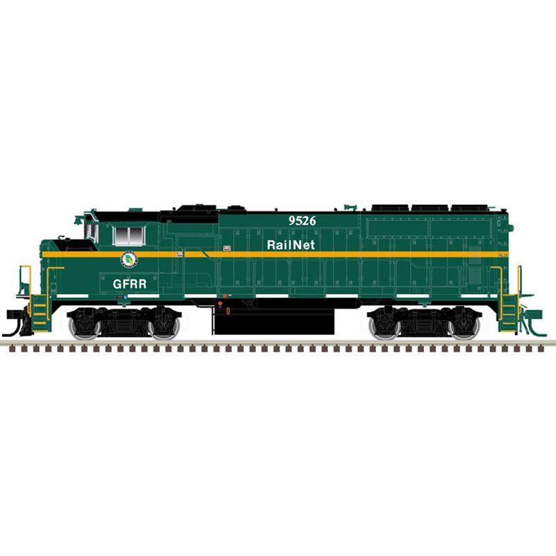 HO GP40-2W DCC SND Georgia & Florida Railnet#9526