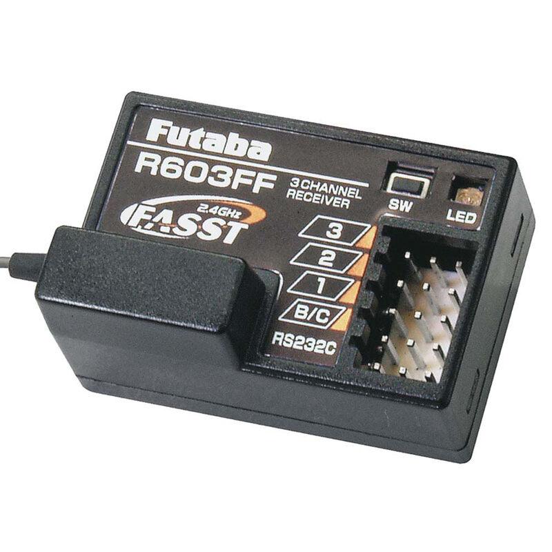 R603FF 3-Channel FASST Receiver 3PM 3PK 4PK