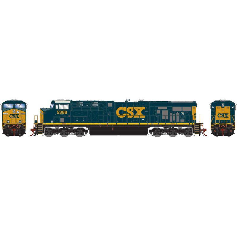 HO ES44DC CSX #5388