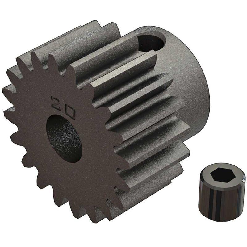 Pinion Gear 20T 0.8 Mod: 4x4 BLX 3S
