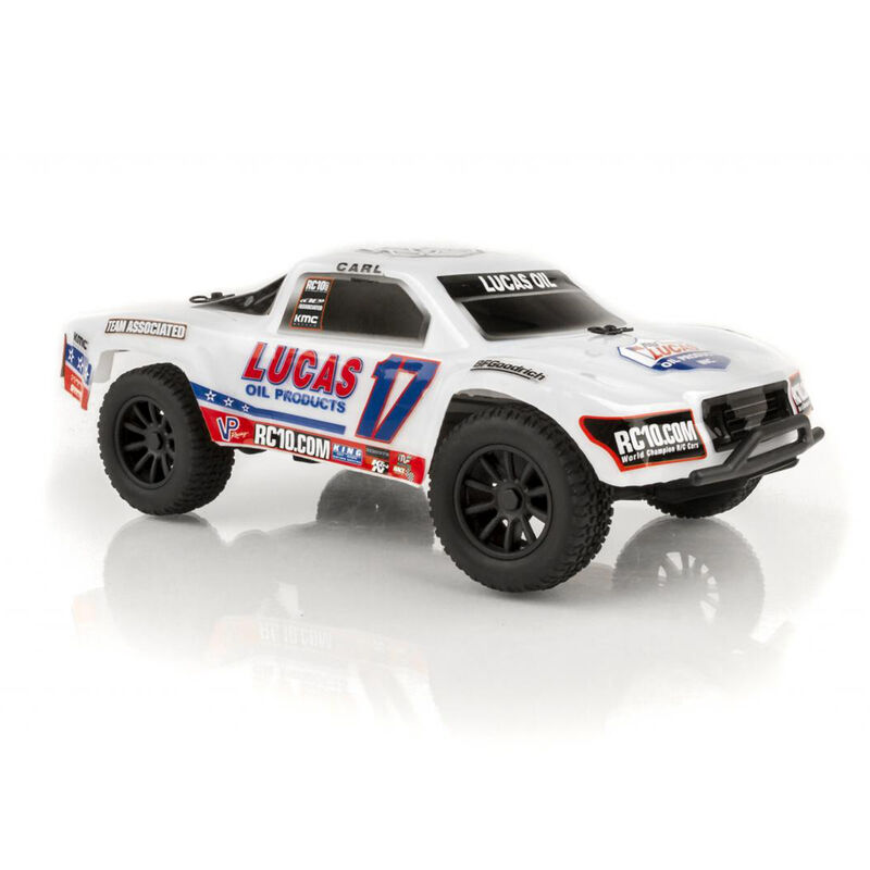 1/28 SC28 2WD SCT Brushed RTR, Lucas Oil Edition