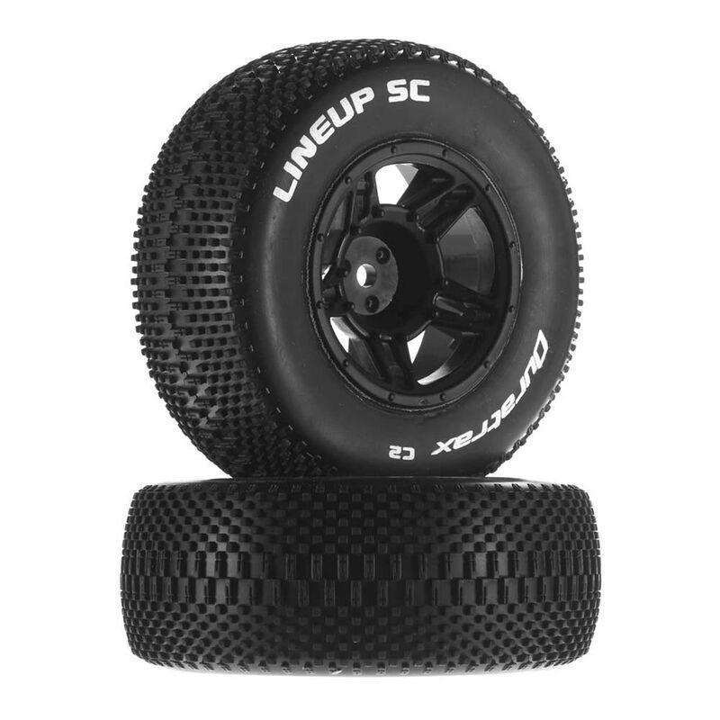 1/10 Lineup SC Tire C2 Mounted Front: Slash (2)