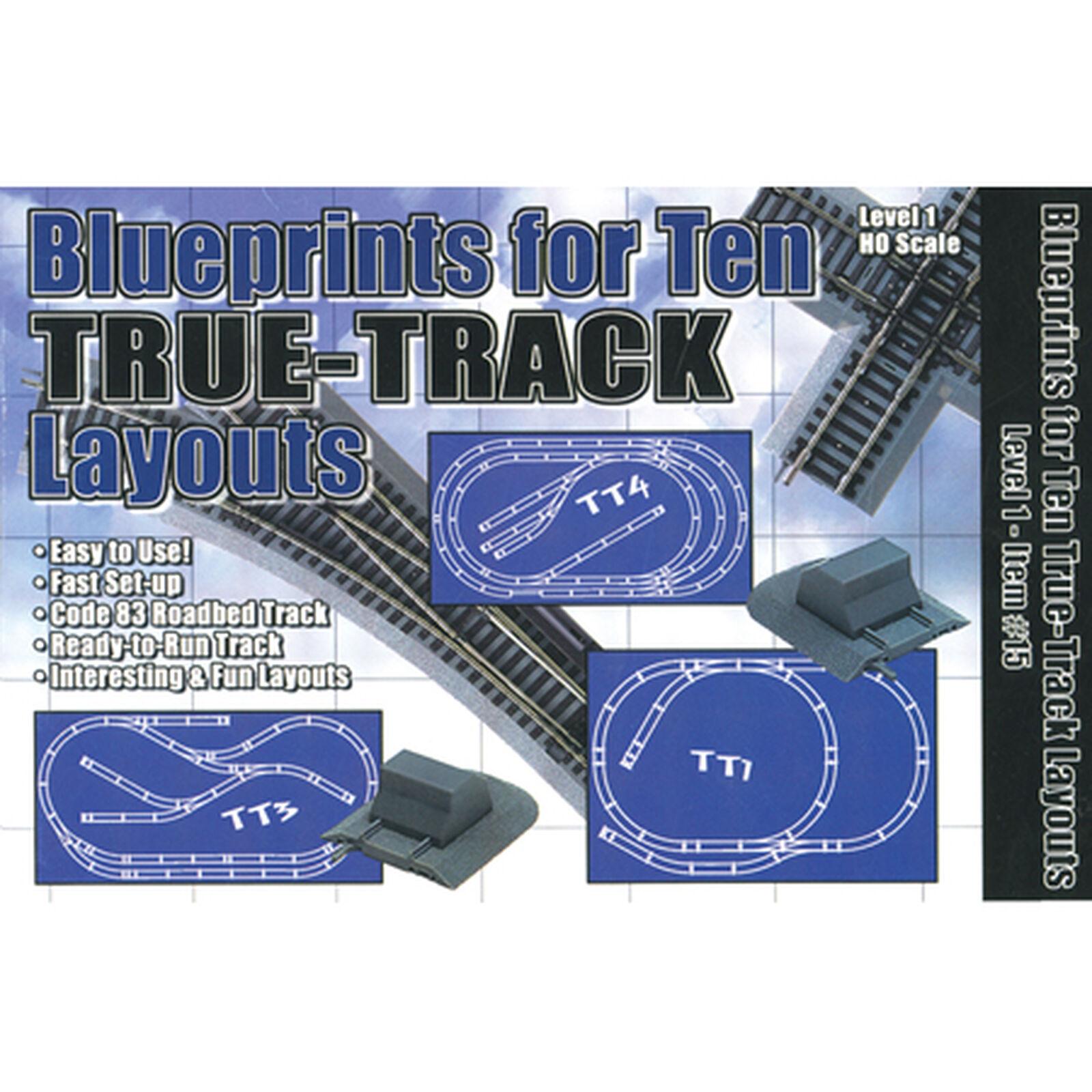 HO Blueprints 10 True Layouts
