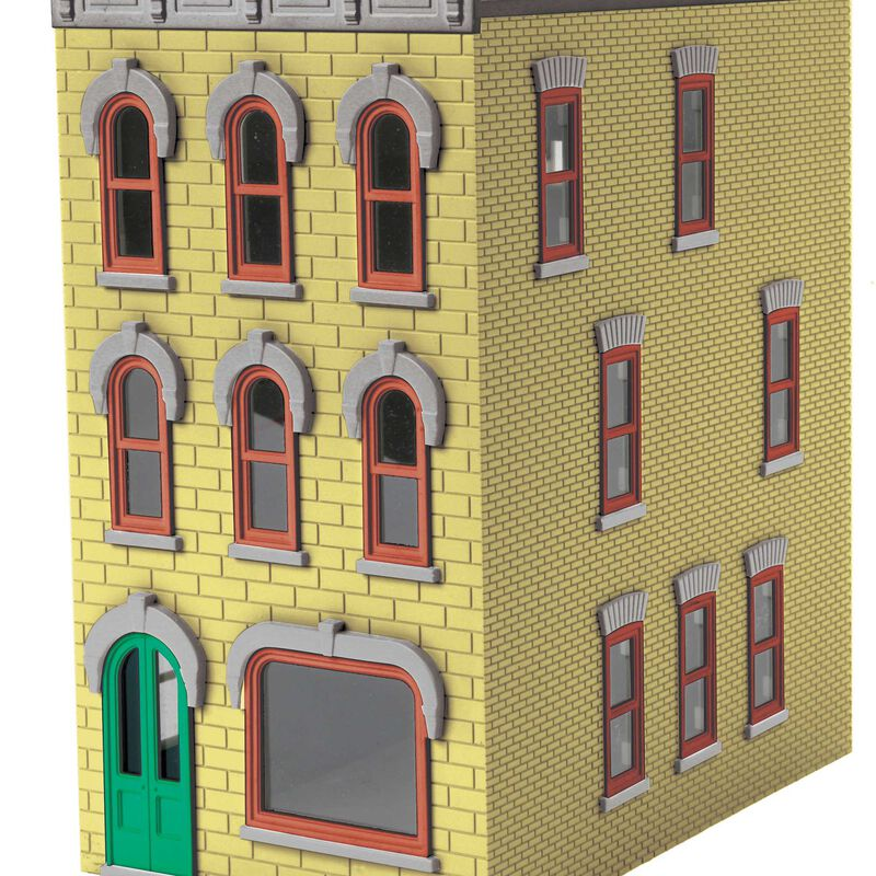 O 3-Story Town House #1 Yellow