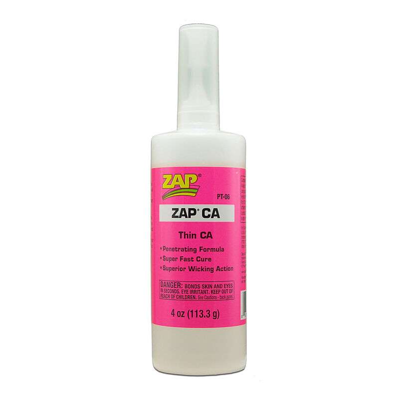 Zap Thin CA Glue, 4 oz